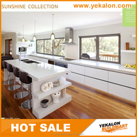 Yekalon 2015 hot sale hanging stainless steel commercial diy kitchen cabinet