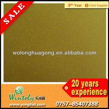 Gold bonded powder coatings
