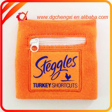 High Quality basketball and party wristband Men With Zipper Pocket