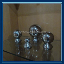 Fashion High Quality 304/316 Stainless steel Railing Handrail Top Ball End Cap/Handrail Domed End Cap