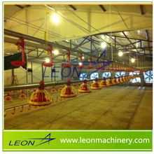 LEON whole auto poultry equipment including fans and evaporative cooling pad