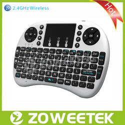 Wireless LED Backlit Keyboard with Touchpad