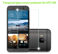 factory price tempered glass screen protector film for HTC M9