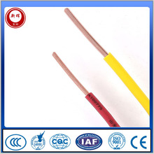 Electrical wire Solid Copper Conductor PVC XLPE Insulated (BV)