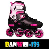 BW-135 2014 newest adjustable high quality inline skates for children