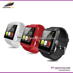 [Somostel] 1.44 Inch U8 Android Smart Watch Phone,Cheap Bluetooth 3.0 Smart Phone Watch