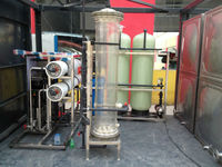 2000LPH Reverse Osmosis system water recycling washing machine