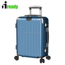 Aluminum frame laptop travel trolley luggage rolling beauty case