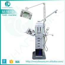 2015 High quality low price 19 in 1 facial beauty machine with High Frequency