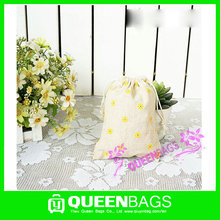 Hot style Sao Tome and Principe cotton drawstring bag with factory direct supply