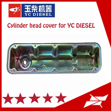 Lubrication system auto engine parts cylinder head cover of yuchai engine