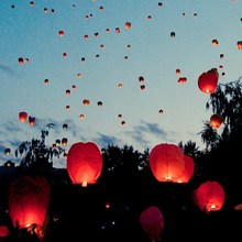 2015 cheap sky lanterns for party