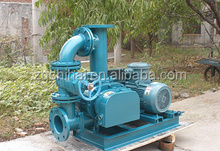 Natural gas transporting roots blower