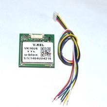 Trade Assurance Gold Supplier VK16U6 ublox GPS module with antenna ublox module TTL 232 USB signal output