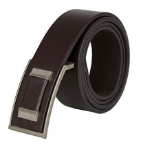 2015 Men Coffee Formal Belt Flat Buckle SWF-15062604