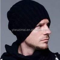 Men and women fashion winter knitted brand hat head cap