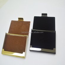 2014 SY luxury novel metal aluminum alloy business namecard holders