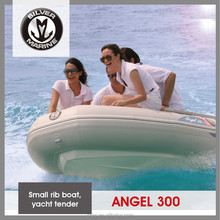 Silver Marine Inflatable tender,small fiberglass v hull boat ( Angel 300) 3 meter