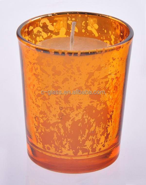 gold colored mercury glass votives candle holder wholesale buy mercury glass votives wholesale. Black Bedroom Furniture Sets. Home Design Ideas