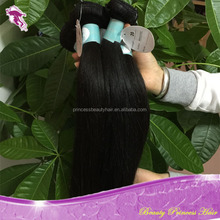 PrincessBeauty Hair wholesale high quality 100% peruvian vigin human hair, natural color, peruvian straight hair