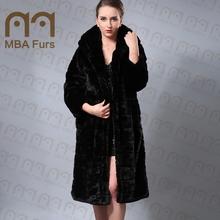 Wholesale cheap women Simulation fur coat