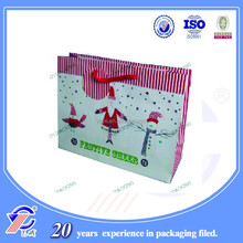 Super quality best selling Christmas paper party goody bags