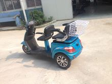 TWO SEATS electric three wheel scooter for old or disabled, made in GUOWEI China
