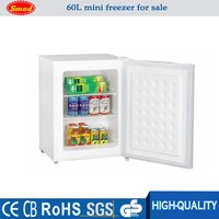 60 Liter low power cunsumption mini countertop freezer