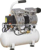 30 liter vertical tank portable bar dental oilfree slient mini air compressor 110v