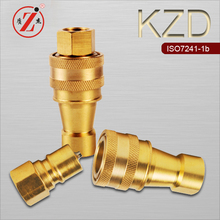 KZD Pneumatic And Hydraulic Double Shut Off Male & Female Quick Coupling