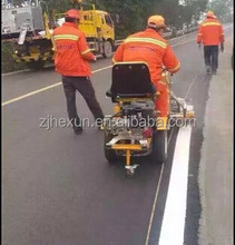 Driving Type Thermoplastic Paint Road Marking Machine Vehicle With Booster As Graco