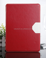 2014 flip tablet case for ipad mini 3 PU leather smart cover