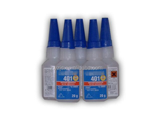 Loctit 401 instant glue strong metal model leather metal rubber universal transparent quick-drying glue
