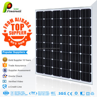 130w Monocrystalline solar module high efficiency fiexible solar panel china price with all certificates