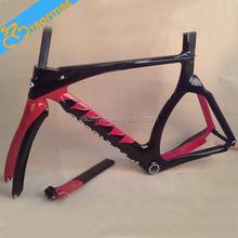 Chegada nova super vermelho e preto tt carbono quadro de bicicleta pedaleiro BSA para corrida