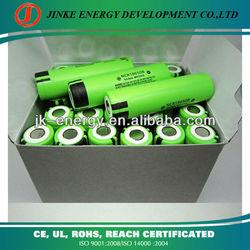 Li-ion rechargeable panasonic 18650 battery for pos terminal