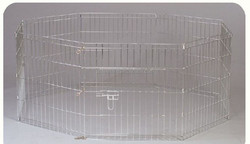2015 Best Price Welded Wire Stainless Steel New Folding Pet Pen Dog Pen Easy To Assemble