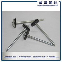 umbrella roofing nails with rubber washer