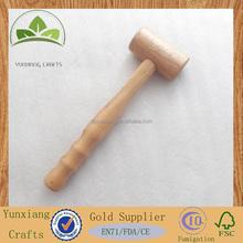 wooden hand hammer for food \ vegetable