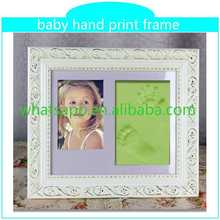Customed Baby Foot Hand Prints Frame bloody handprint tablecover halloween