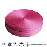 Hot selling elastic polyester seat belt webbing