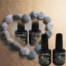 New developed uv gel polish hot selling cat eye color gel nail polish