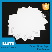 Virgin Pulp Style And Carton Box Converting Of Grey Duplex Board Paper