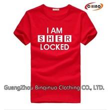 100% Cotton Tshirt Custom Printing Wholesale
