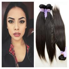 Cheap high quality indian virgin 100 percent human hair extensions