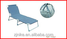 Top sale removable steel tube folding bed with adjustable headrest