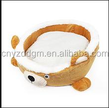 pet bed for dog /dog bear shape sleeping basket/custom dog sleeping basket