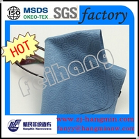 2015 fashional 100%polyester microfiber eyeglasses cleaning cloth backing nonwoven fabric