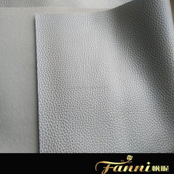 metallic surface pvc leather for sofa/metallic pvc sofa leather/sliver color pvc leather