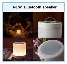 china top ten selling products multifunction mini portable amplifier speaker bluetooth with led light